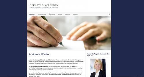 Firmenprofil von: Kanzlei Geraats in Münster