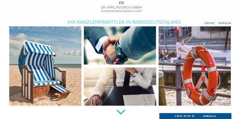 Firmenprofil von: Erfahrene Kanzleivermittlung für den Raum Norddeutschland: Dr. Karl Heidrich GmbH Unternehmensberatungsgesellschaft in Reinbek