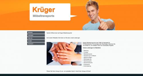 Firmenprofil von: Umzüge und Möbeltransporte Krüger in Hannover