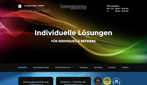 Firmenprofil von: Bergerhausen Werbetechnik GmbH in Troisdorf