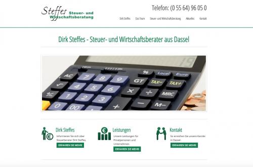 Firmenprofil von: Steffes Steuer- und Wirtschaftsberatung in Dassel
