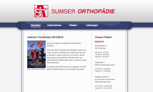 Firmenprofil von: Alles für die Gesundheit: Sumser Orthopädie in Münster