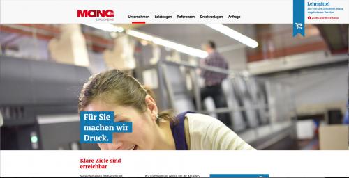 Firmenprofil von: Die Druckerei Mang GmbH + Co. KG