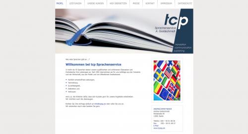 Firmenprofil von: Sprachservice in Berlin: tcp Sprachenservice