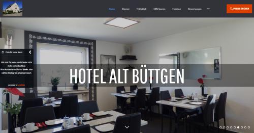 Firmenprofil von: Kompetent und Preisgünstig: Hotel Garni Alt Büttgen nahe Neuss