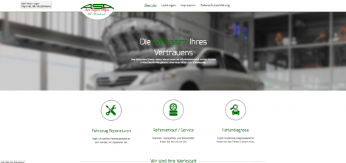 Firmenprofil von: Meisterwerkstatt und Kfz-Teileverkauf in Kaufbeuren: ASA – Auto Siegert Allgäu