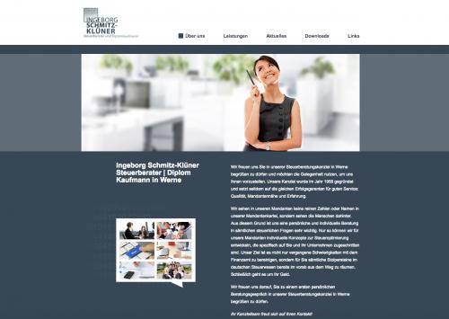 Firmenprofil von: Ingeborg Schmitz-Klüner Steuerberater I Diplom Kaufmann in Werne