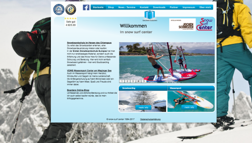 Firmenprofil von: Snow Surf Center von Rudi Schmid in Traunreut