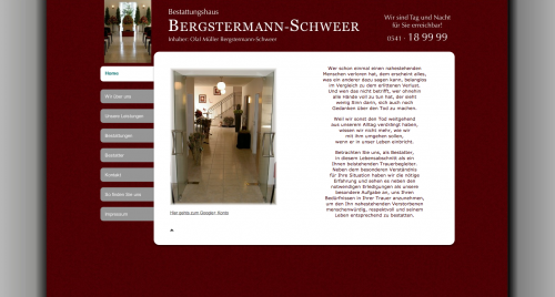 Firmenprofil von: Bestatter Bergstermann-Schweer in Osnabrück