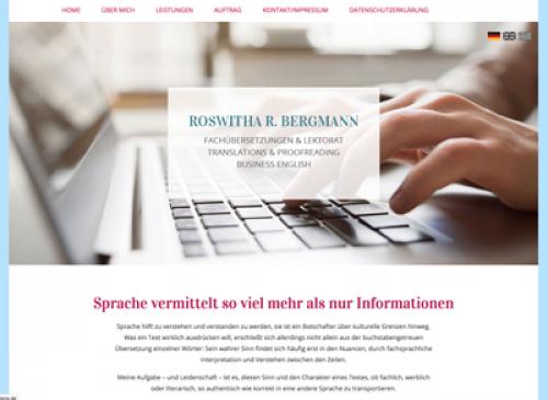 Firmenprofil von: Roswitha Bergmann: Übersetzungen im Raum Ottobrunn