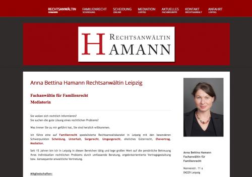 Firmenprofil von: Rechtsanwalt in Leipzig: Fachanwältin für Familienrecht