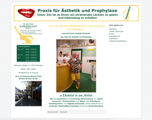 Firmenprofil von: Wurzelkanalbehandlung – Die letzte Rettung des Zahns