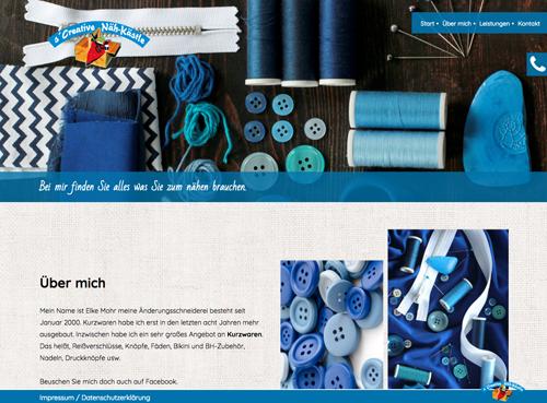 Firmenprofil von: Änderungsschneiderei s'Creative Näh-Kästle in Tuttlingen