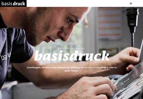 Firmenprofil von: Zuverlässige Druckerei in Duisburg: basisdruck GmbH für eine saubere Ausführung