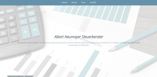 Firmenprofil von: Steuerberater Albert Neumayer in Bad Reichenhall