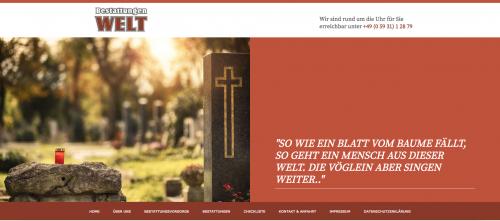 Firmenprofil von: Bestattungen Welt&Sohn in Meppen begleitet Sie würdevoll im Trauerfall