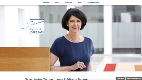 Firmenprofil von: Finanzbuchhaltung in Regensburg: Steuerberaterin Diplom-Kauffrau Petra Saar