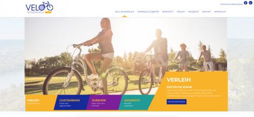 Firmenprofil von: Ihr Fahrradverleih in Bonn: Velo Wunderlich