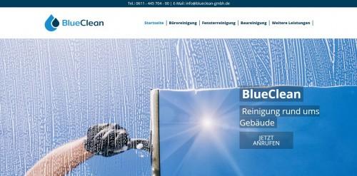 Firmenprofil von: Zuverlässige Unterhaltsreinigung – Blue Clean GmbH aus Mainz