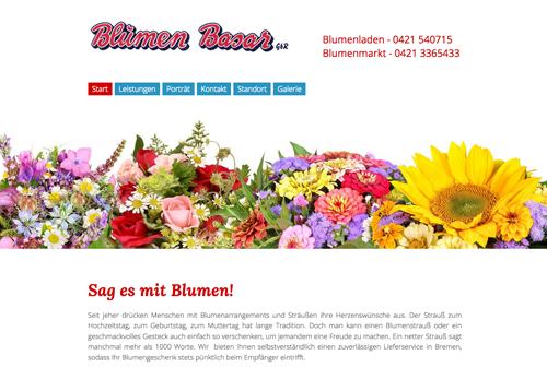 Firmenprofil von: Floristik, die begeistert: Blumen-Basar in Bremen