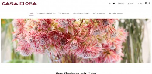 Firmenprofil von: Ihre Floristen aus Hürth – Blumen von Casa Flora