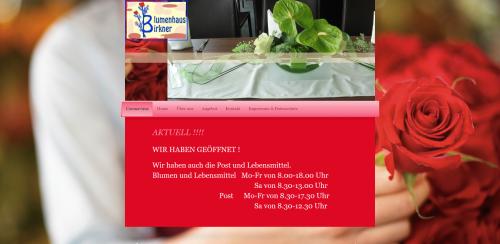 Firmenprofil von: Die perfekte Adresse für Blumen: Blumenhaus Birkner in Nürnberg