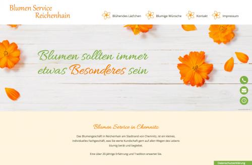 Firmenprofil von: Blumenlieferservice in Chemnitz: Blumen Service Reichenhain