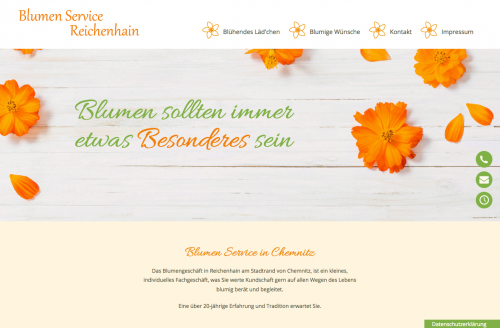 Firmenprofil von: Blumen vom Reichenhains Blumen Service Reichenhain