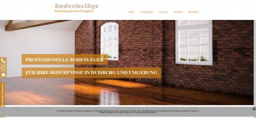 Firmenprofil von: Ihr Experte für Raumausstattungen in Duisburg: Bodenlegerbetrieb Kempken