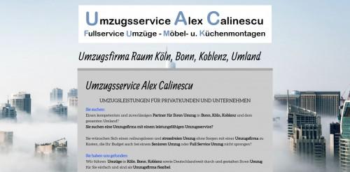 Firmenprofil von: Umzüge für Privatpersonen und Unternehmen – Umzugsservice Alex Calinescu in Bonn