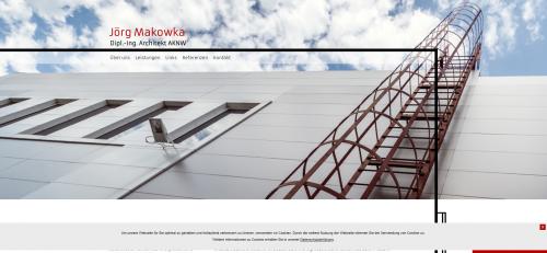 Firmenprofil von: Ihr Architekt in Düren: Dipl.-Ing. Jörg Makowka