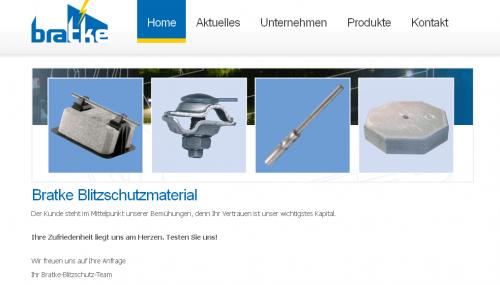 Firmenprofil von: Bratke Blitzschutzmaterial GmbH in Bad Windsheim