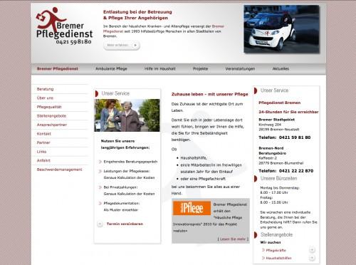 Firmenprofil von: Bremer Pflegedienst