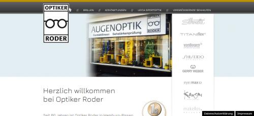 Firmenprofil von: Optiker Roder in Hamburg sorgt für gute Sicht