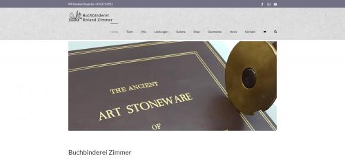 Firmenprofil von: Buchbinderei Zimmer – Ihr Experte rund ums Buch nahe Köln