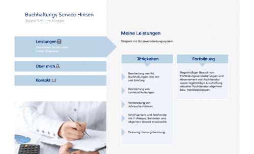 Firmenprofil von: Lohnbuchhaltung in Hamburg: Buchhaltungs Service Hinsen