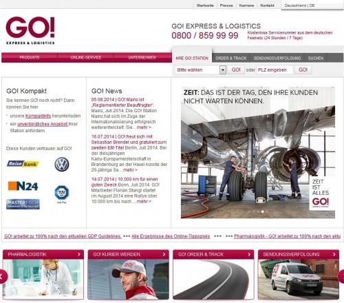 Firmenprofil von: GO! Express & Logistics, Kurierdienst in Göttingen