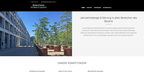 Firmenprofil von: Bedarfsplanung und Planung des Baus aus einer Hand: Bückle und Partner in Ulm