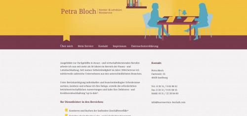 Firmenprofil von: Qualifizierte Finanzbuchhaltung in Bocholt von Petra Bloch