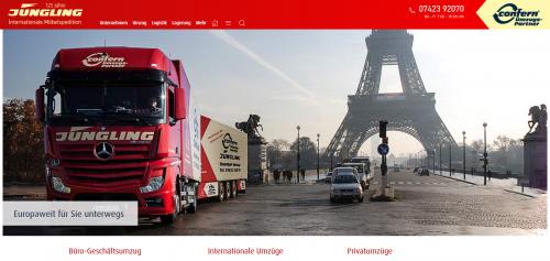 Firmenprofil von: Reibungslose Bundeswehrumzüge mit Jüngling Möbeltransport und Spedition