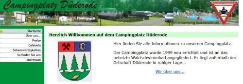 Firmenprofil von: Campingplatz Düderode in Kalefeld