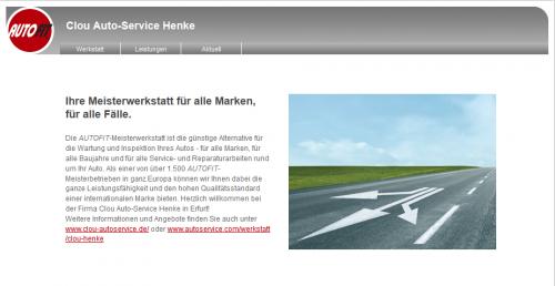 Firmenprofil von: Autoservice in Erfurt: Clou Auto-Service Henke