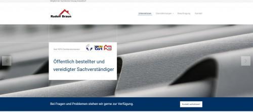 Firmenprofil von: Sachverständiger für Bedachungen: Rudolf Braun in Düsseldorf