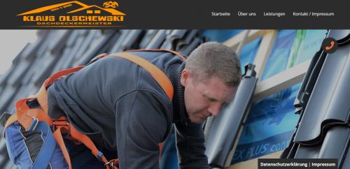 Firmenprofil von: Der Dachdecker Ihres Vertrauens: Dach und Wand Olschewski in Gladbeck