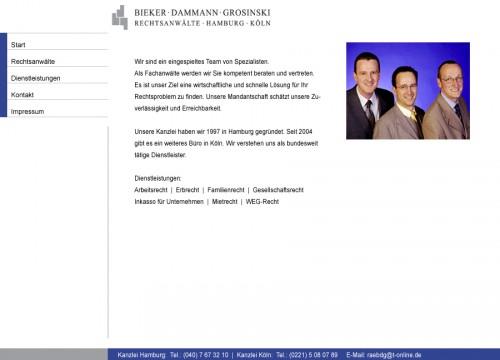 Firmenprofil von: Bieker & Dammann Rechtsanwälte Hamburg & Köln