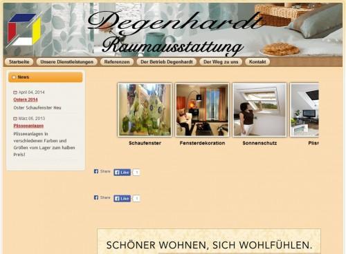 Firmenprofil von: Degenhardt Raumausstattung in Bad Sachsa