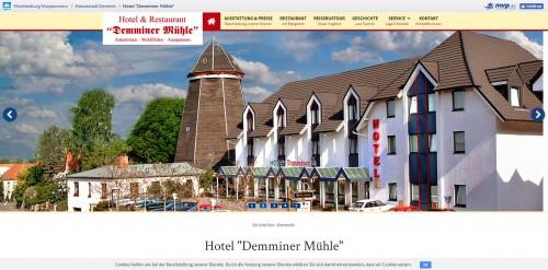 Firmenprofil von: Hotel und Restaurant Demminer Mühle: Wohlfühlen im Herzen von Mecklenburg-Vorpommern