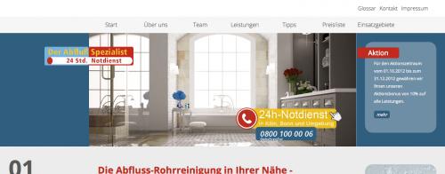 Firmenprofil von: Rohrreiniger in Köln: Der Abfluss Spezialist Andreas Max Keip