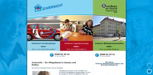Firmenprofil von: Ambulante Pflege in gewohnter Umgebung – Pflegedienst Zuversicht