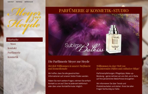 Firmenprofil von: Kosmetische Behandlung in Münster: Parfümerie & Kosmetikstudio Meyer zur Heyde